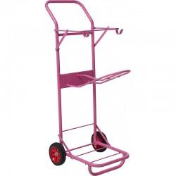 Housse pr muserole en mouton BR avec velcro 28 cm